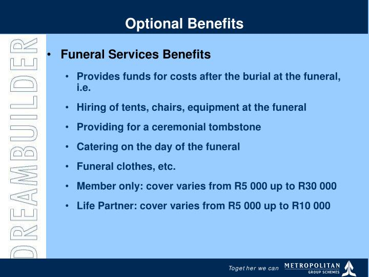 Optional Benefits