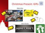 christmas present gifts