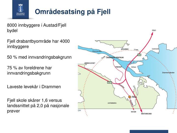 8000 innbyggere i Austad/Fjell bydel