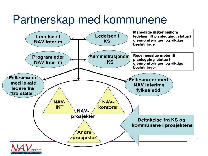 Partnerskap med kommunene