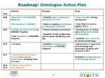 roadmap ontologies action plan