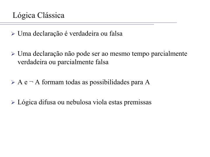 Lógica Clássica