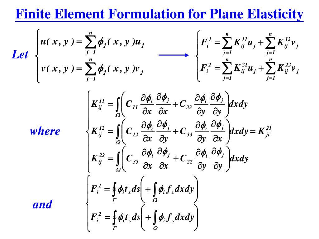 Finite Element Formulation