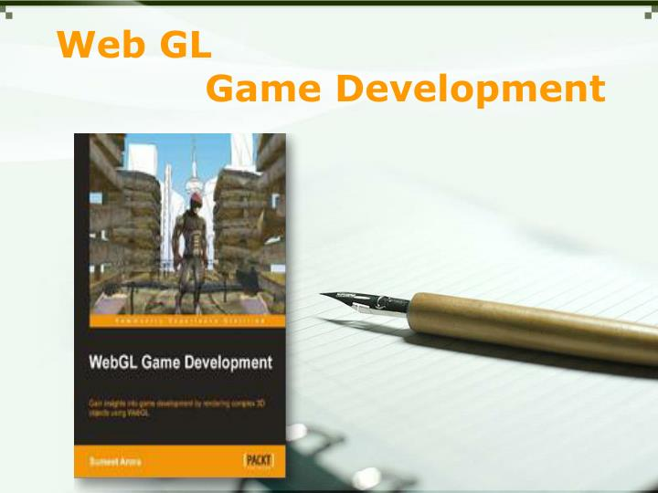 Web gl game development