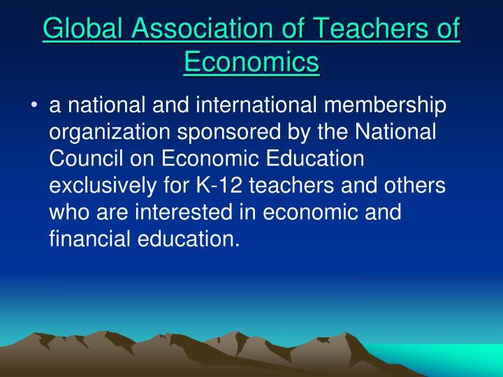 Global Association of Teachers of Economics
