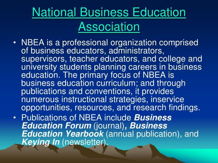 National business education association
