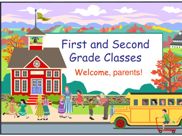 first and second grade classes n.