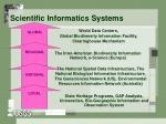 scientific informatics systems
