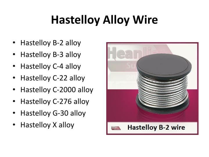 Hastelloy Alloy