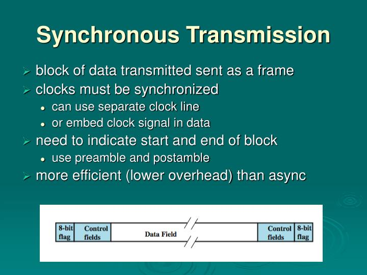 Synchronous Transmission