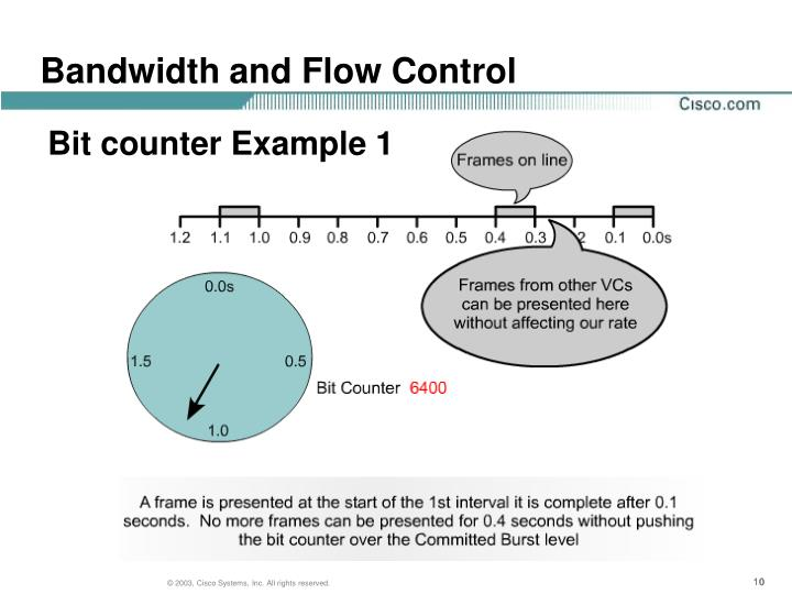 Bandwidth and Flow Control