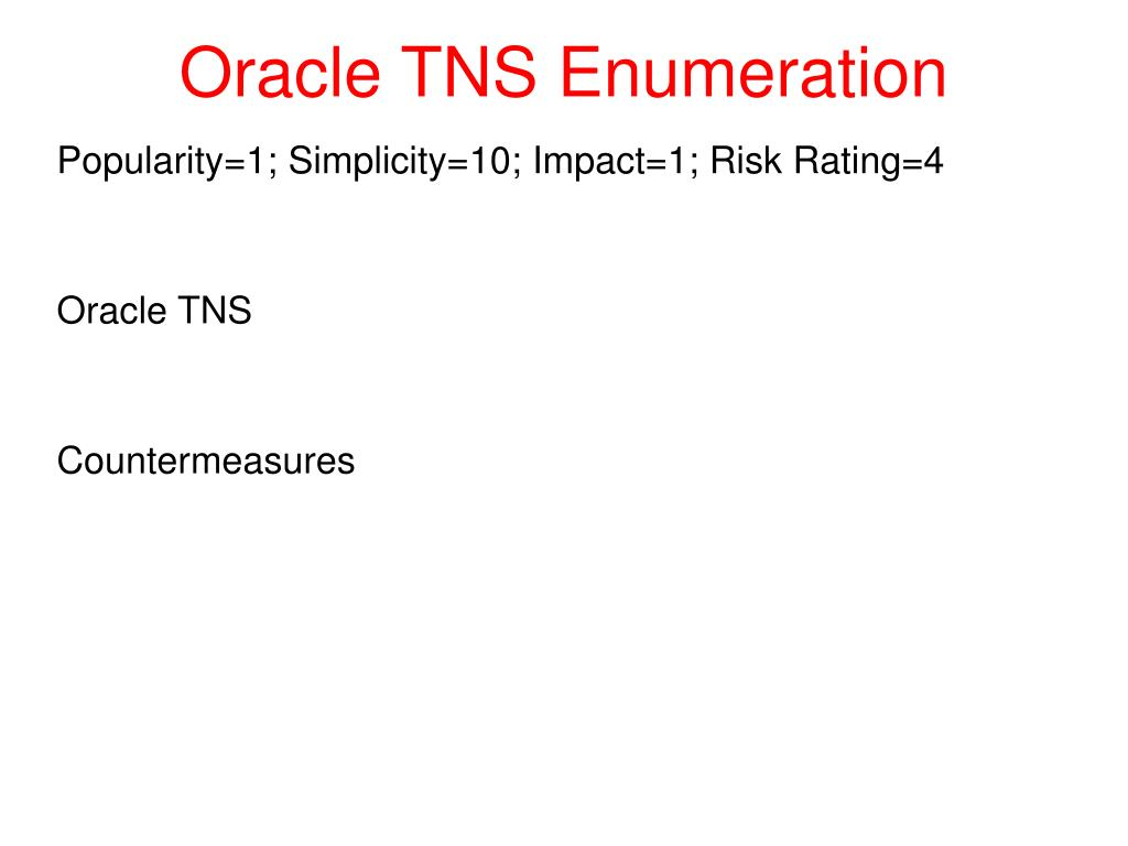 Msrpc Enumeration