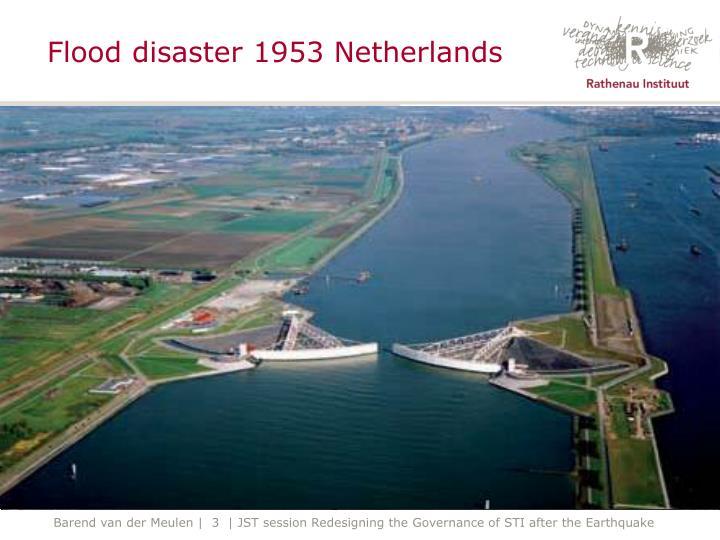 Flood disaster 1953 netherlands