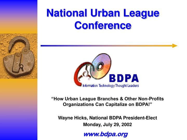 national urban league conference n.