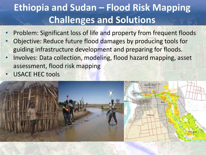 Ethiopia and Sudan – Flood Risk Mapping Challenges and Solutions