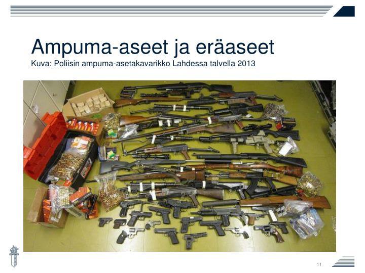 Ampuma-aseet ja eräaseet