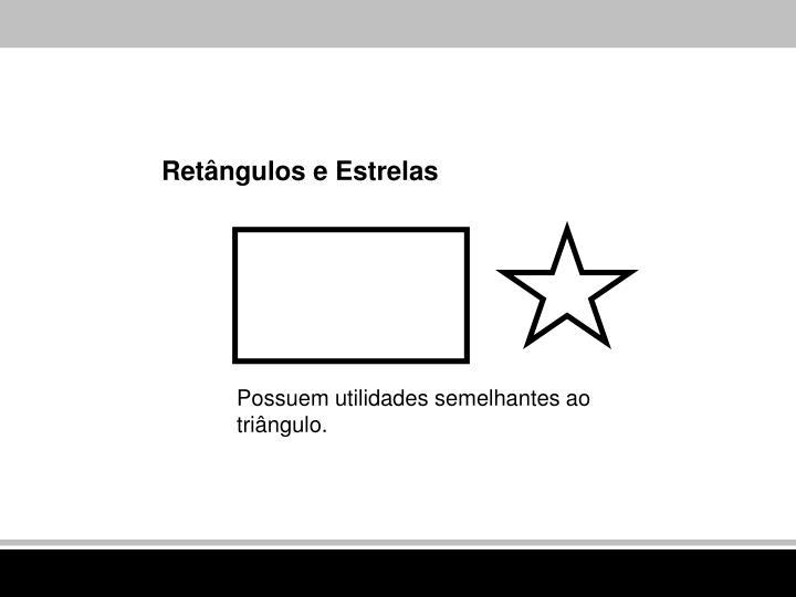 Retângulos e Estrelas