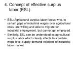 4 concept of effective surplus labor esl