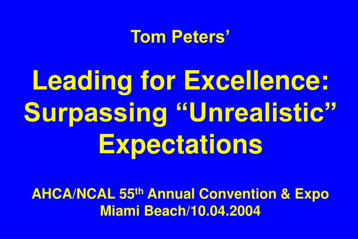 Tom Peters'