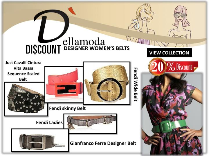 f16f1d564ee PPT - Leading Designer Accessories with Discount at Dellamoda.com ...