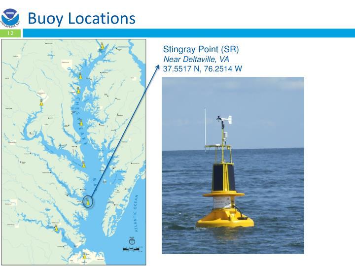 Buoy Locations
