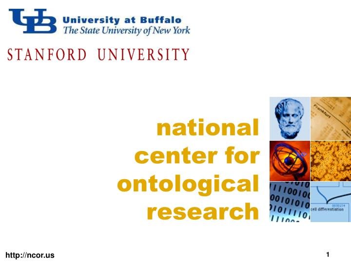 national center for ontological research n.