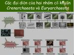 c c i di n c a hai nh m c khu n crenarchaeota v euryarchaeota
