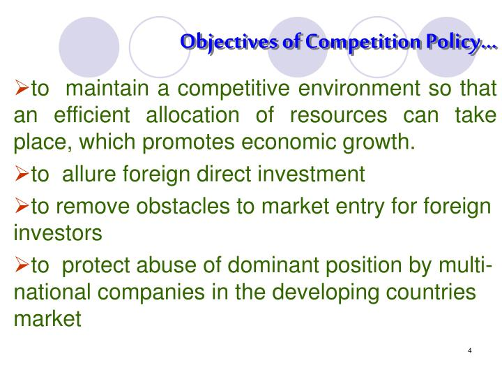 a discussion of competition policy The discussion paper notes that competition is not an end in itself, and this is a view that is expressed by many commentators 8 however, the discussion paper, and the proposal on page 218 suggests that consumer protection policy is a subset of competition policy, in the.