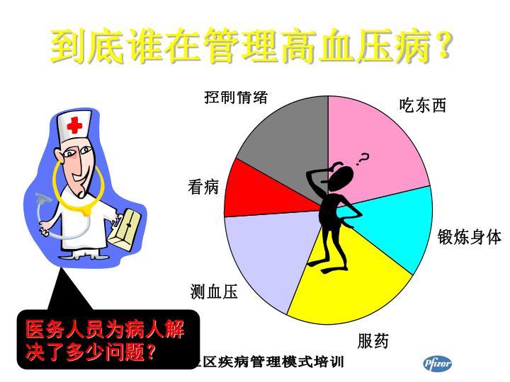 到底谁在管理高血压病?