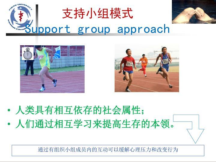 支持小组模式