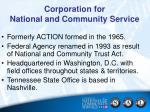 corporation for national and community service1
