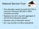 national service trust