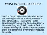what is senior corps