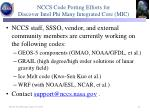nccs code porting efforts for discover intel phi many integrated core mic