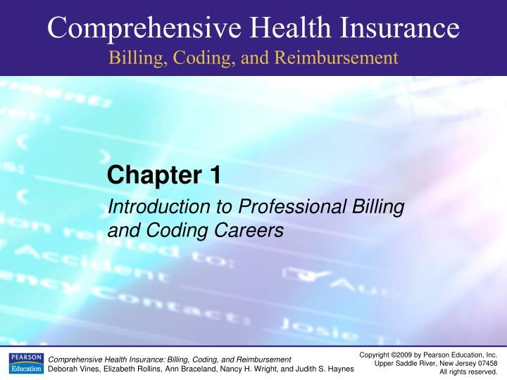 chapter 1 study guide medical billing coding Medical billing & coding for dummies gives you practical, easy-to-follow information and advice on what to expect in a billing and coding career, ways to find a training program, your certification options, ways to stay competitive in the field, and the laws and other regulations you'll encounter in your work.