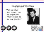 engaging americans