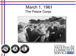 march 1 1961