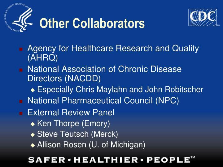 Other Collaborators