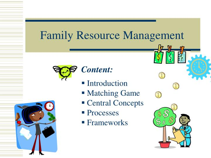 PPT - Family Resource Management PowerPoint Presentation