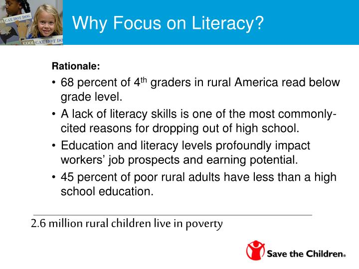 Why Focus on Literacy?