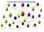 community and state organizing
