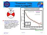 transverse nchg versus p t chgjet 14