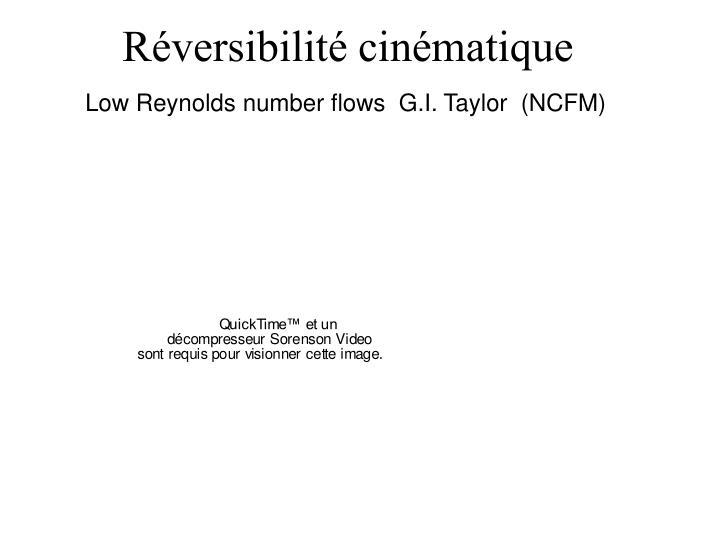 Réversibilité cinématique
