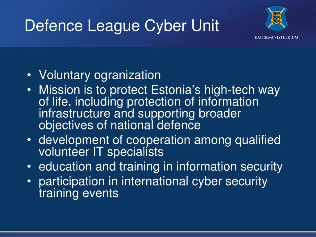 PPT - Cyber security implementation within an organization