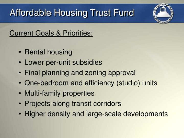 Affordable Housing Trust Fund