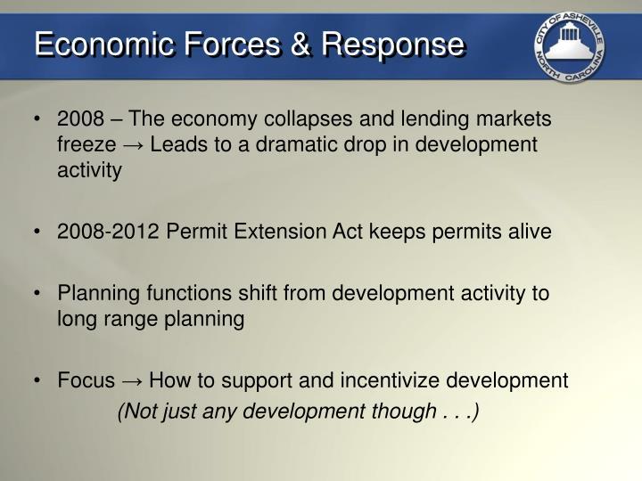 Economic Forces & Response