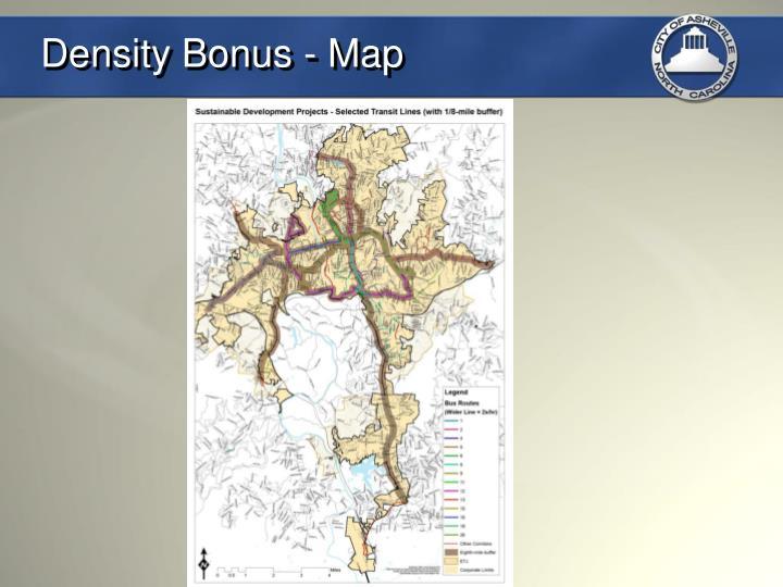 Density Bonus - Map