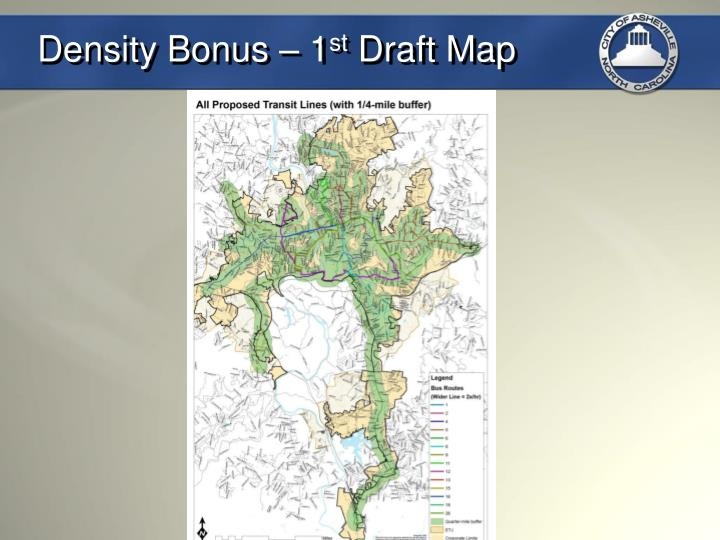 Density Bonus – 1
