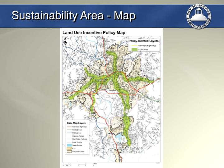 Sustainability Area - Map