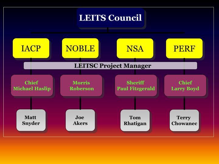 Law enforcement information technology standards council leitsc